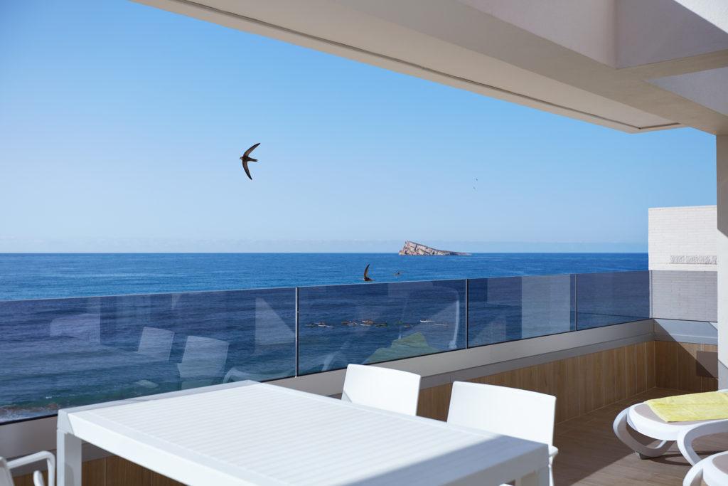 Apartamentos en Benidorm con Vistas al Mar